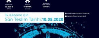 Taksim Kentsel Tasarım Yarışması afiş