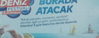 İstanbul Deniz Festivali afiş