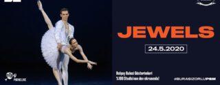Bolşoy Balesi Gösterimleri: Jewels afiş