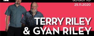 Terry Riley & Gyan Riley Konseri afiş