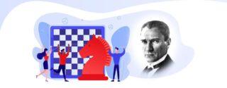 19 Mayıs Online Satranç Turnuvası afiş