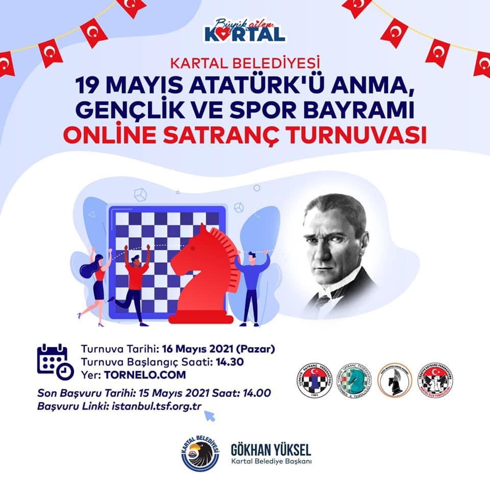 19 Mayıs Online Satranç Turnuvası