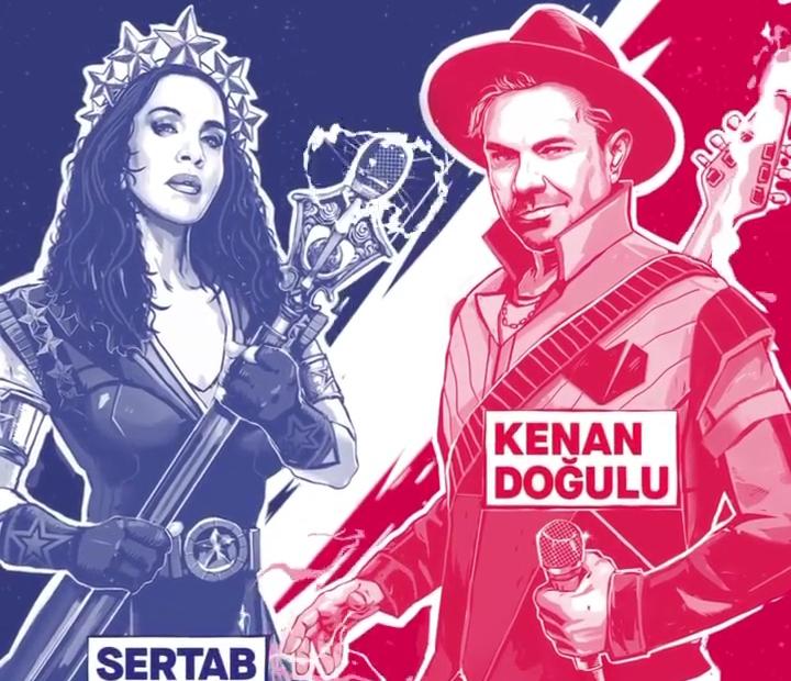 Red bull SoundClash – Kenan Doğulu X Sertab Erener Konseri