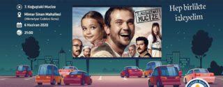 Arabalı Sinema Gecesi afiş