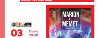 Marion İle Mehmet Tiyatro afiş