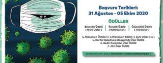 Kartal Belediyesi Uluslararası Covid-19 Karikatür Yarışması afiş