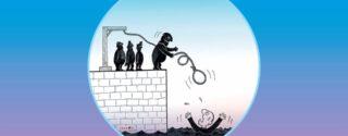 Çizgi – Yorum Karikatür Sergisi afiş