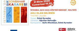 İstanbul'da Bir Sonbahar Kabaresi afiş