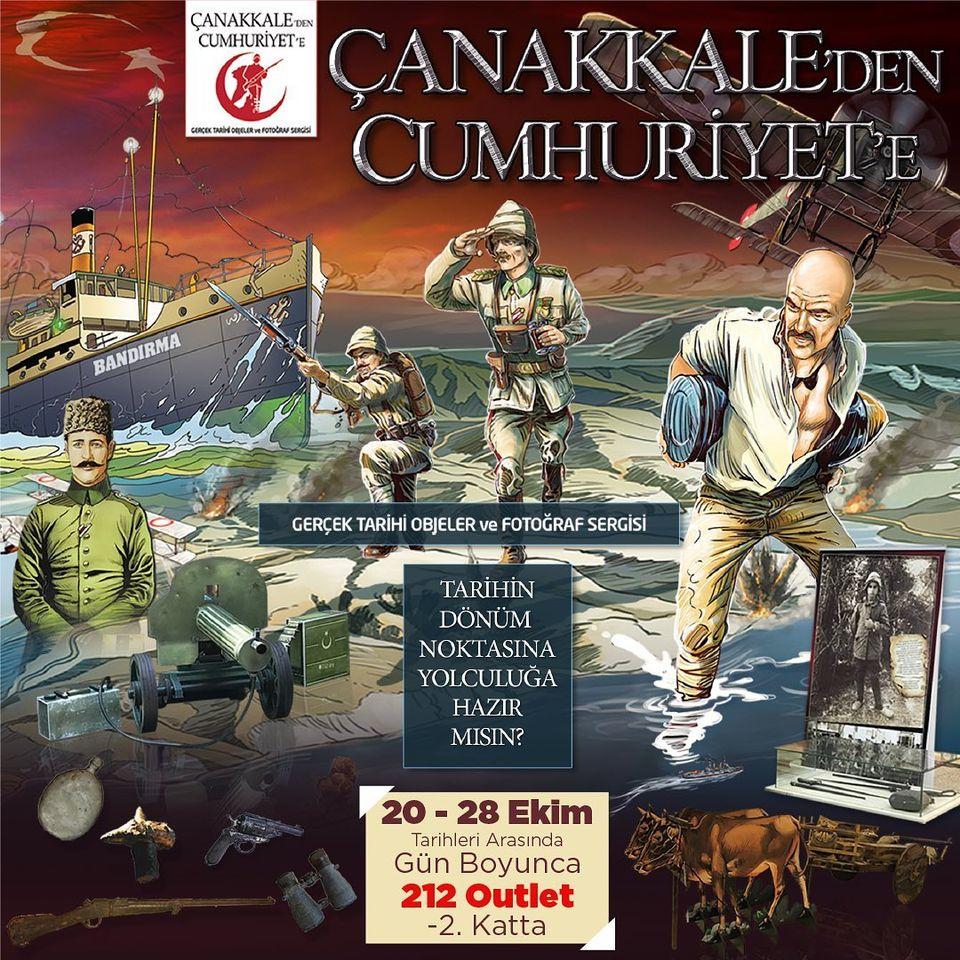 Çanakkale'den Cumhuriyet'e Fotoğraf Sergisi