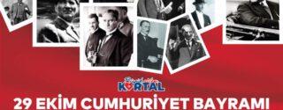 29 Ekim Cumhuriyet Bayramı Sergisi afiş
