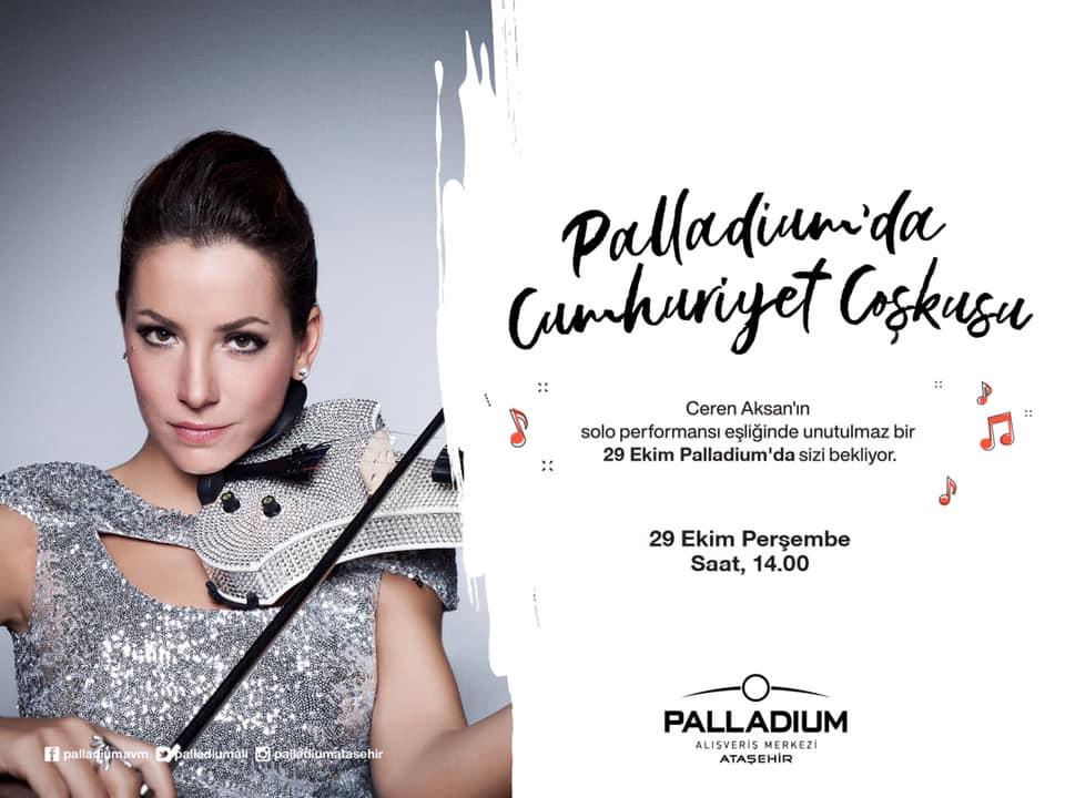 Palladium'da Cumhuriyet Coşkusu