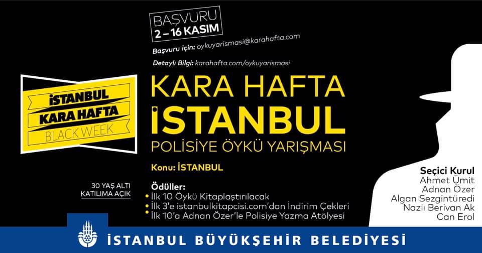 Kara Hafta İstanbul Polisiye Öykü Yarışması