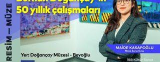 Burhan Doğançay'ın 50 Yıllık Çalışmaları afiş
