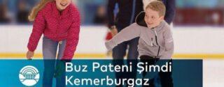 Kemerburgaz Kent Ormanı'nda Buz Pisti Açıldı afiş