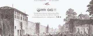 İstanbul Gravürleri Sergisi afiş