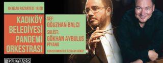 Kadıköy Belediyesi Pandemi Orkestrası afiş