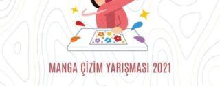 Manga Çizim Yarışması 2021 afiş