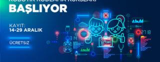 Robotik Kodlama Kursları Başlıyor! afiş