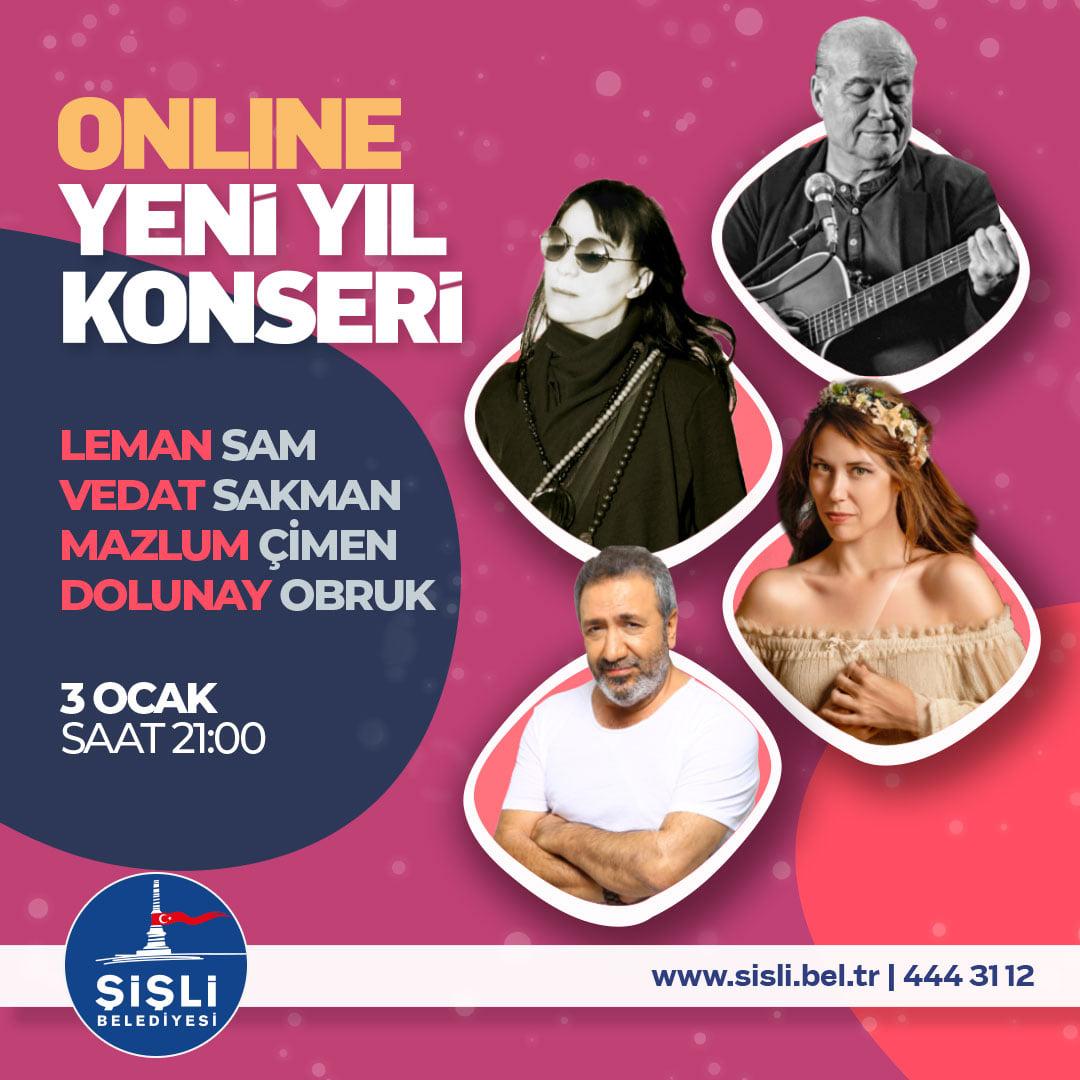 Şişli Belediyesi Online Yeni Yıl Konseri