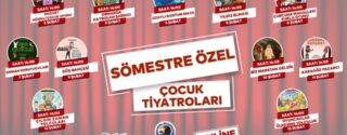 Kartal Belediyesi Sömestre Özel Online Tiyatro afiş