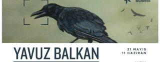 Yavuz Balkan Retrospektif Resim Sergisi afiş