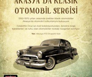 Akasya'da Klasik Otomobil Sergisi