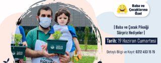 Yedikule Bahçe'de Babalar Günü Pikniği ve Atölyesi afiş