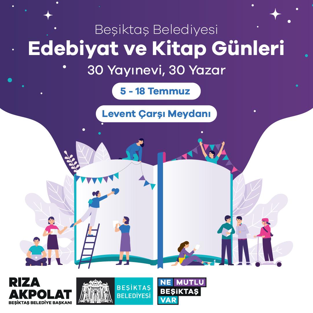 Beşiktaş Belediyesi Edebiyat ve Kitap Günleri