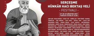 Serçeşme Hünkâr Hacı Bektaş Veli Festivali afiş