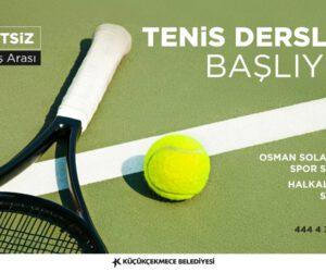 Tenis Dersleri Başlıyor!