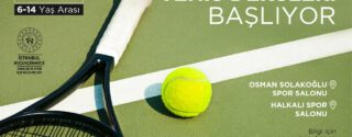 Tenis Dersleri Başlıyor! afiş