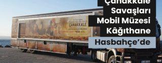 Çanakkale Savaşları Mobil Müzesi Kağıthane afiş