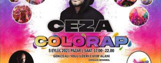 Colourap Ceza Konseri afiş