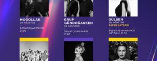 Beşiktaş Belediyesi Revival Konserleri Başlıyor! afiş