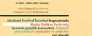Akademi Festival İstanbul afiş