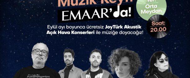 Emaar JoyTürk Akustik Konserleri