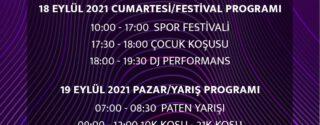 Kadıköy Yarı ve Maratonu Spor Festivali afiş