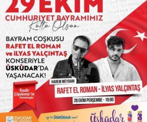 Üsküdar 29 Ekim Cumhuriyet Bayramı Etkinlikleri